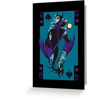 MalefiCard Greeting Card
