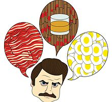 Ron Swanson Says by davidyarb
