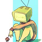 TV Head Girl by Ondinel
