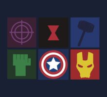 Avengers Assemble by bethsemporium