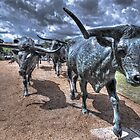 The Cattle Drive  by John  Kapusta
