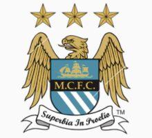 Manchester City F.C Logo Crest by CuteBanana