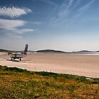 Landing on Barra by Kasia-D
