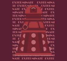 Exterminate Red by Saintsecond