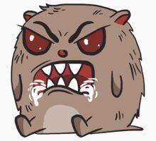 angry hamster by lokta