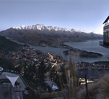 Skyline Queenstown by TedmBinegas