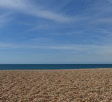 Chesil Beach, Dorset, UK by Robfrom1947