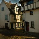 Elm Hill Norwich UK by Gordon Holmes