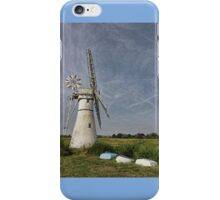 Thurne Dyke Mill and Boats iPhone Case/Skin