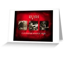 Rush - Clockwork Angels Tour Greeting Card