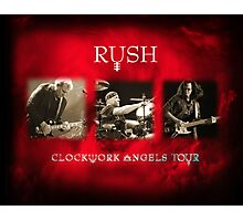 Rush - Clockwork Angels Tour Photographic Print