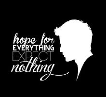Darren Criss silhouette - quotes [white] by mirtilla83