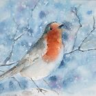 Winter Robin by Anita Murphy