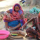 Sarnath Ladies by John Dalkin