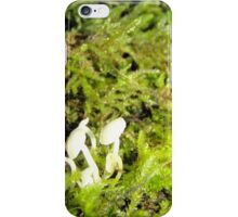 Moss and Mushrooms iPhone Case/Skin