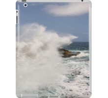 Crashing Waves at Boka Tabla iPad Case/Skin