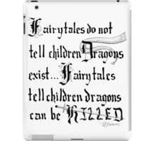 What Fairy Tales Do (GK Chesterton)  iPad Case/Skin