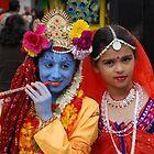Radha Krishan at Rath Yathra by santoshputhran