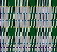00081 Milne Dress Green Clan Tartan  by Detnecs2013