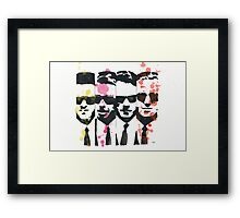 The dogs Framed Print