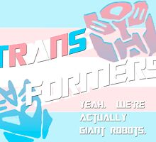 Trans(gender) Formers by thegamingmuse