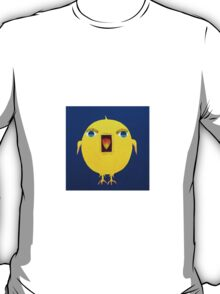 Yellow Bird with Lashes T-Shirt