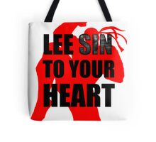 Lee Sin To Your Heart Tote Bag