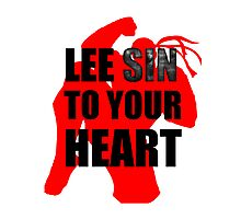 Lee Sin To Your Heart Photographic Print