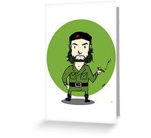 CHE CHEVARA Greeting Card
