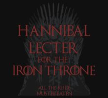 Hannibal Lecter for the Iron Throne (2) by FandomizedRose