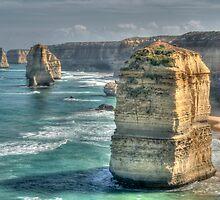 The Twelve Apostles, Great Ocean Road, Victoria by Adrian Paul