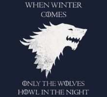 House Stark - Game of Thrones T-Shirt / Phone case / Pillow 9 by Fenx
