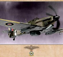 Hawker Hurricane Mk.V by A. Hermann