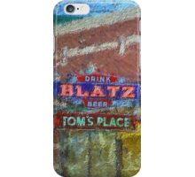 Drink Blatz Beer iPhone Case/Skin