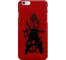 Saiyan Power up iPhone Case/Skin