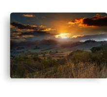 The Last Ray of Sun Canvas Print