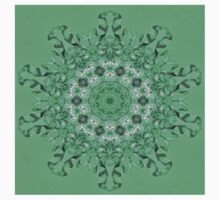 Kaleidoscope of mint green icicles Kids Clothes