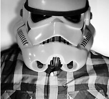 Star wars storm trooper flannel by RLAmaro