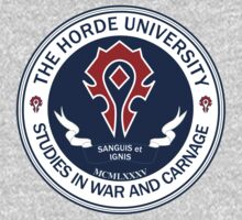 WoW Horde University by Chronotaku