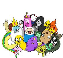 Adventure Time by Tyler Riley