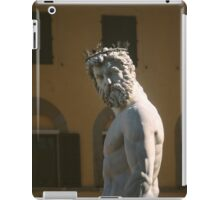 You can't cross the sea merely by standing and staring at the wa iPad Case/Skin