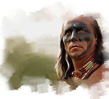 Cherokee Warrior by Victoria Antoine