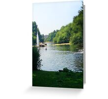 Water River Greeting Card