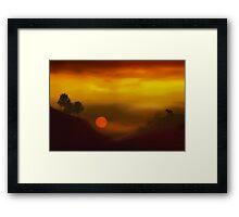 Heavenly Harmony Framed Print