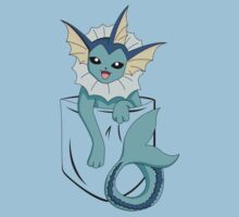 Vaporeon in my pocket by CoyoDesign