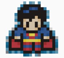 Superman Pixel by PXLTD