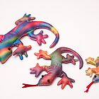 colorful lizards by arnau2098