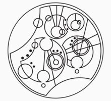 'Gallifrey Falls No More' in Gallifreyan by ChibiPeppers