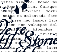 We're All Stories Sticker