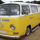 Yellow Camper!! by Vicki Spindler (VHS Photography)